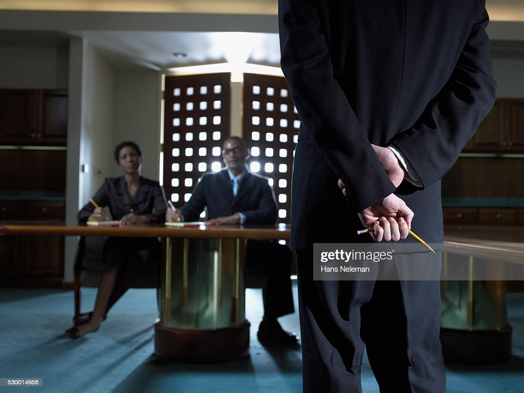 Businessman Meeting with Board Members : Stock Photo