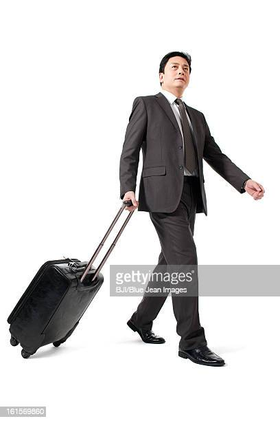 Businessman on a trip