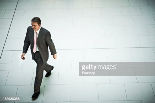 Businessman on the move : Stock Photo
