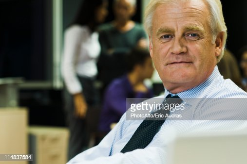 Businessman, portrait : Stock Photo
