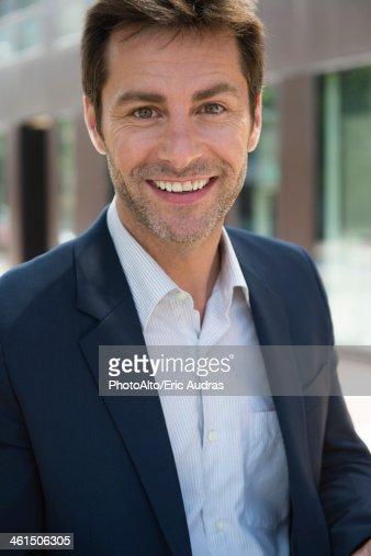 Businessman, portrait : Stock Photo