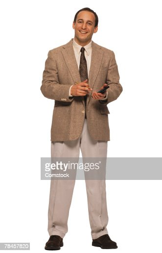 Businessman posing : Stock Photo