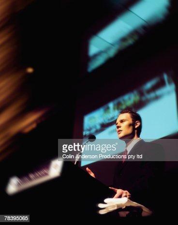 Businessman, public speaker