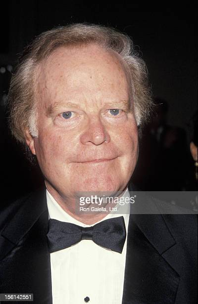 Businessman Roone Arledge attends 15th Annual All Sports Hall of Fame Awards Dinner on October 24 1990 at the Waldorf Astoria Hotel in New York City