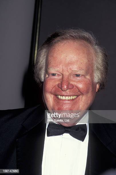 Businessman Roone Arledge attends 16th Annual Sports Emmy Awards on April 25 1995 at the Marriott Marquis Hotel in New York City