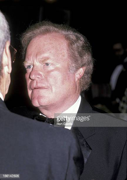 Businessman Roone Arledge attends 20th Anniversary Celebration of NYU's Tisch School of the Arts Awards Ceremony on October 15 1985 at New York...