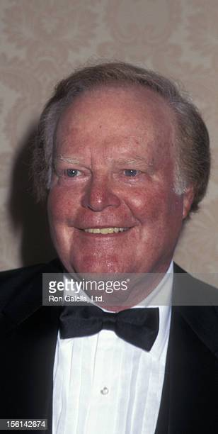Businessman Roone Arledge attends American Museum of the Movine Image Gala Honoring Sherry Lansing and Roone Arledge on October 24 1995 at St Regis...