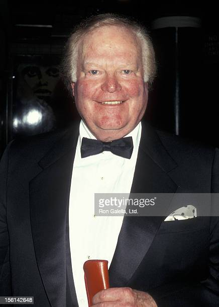 Businessman Roone Arledge attends Literacy Partners Evening of Readings Gala on May 5 1997 at the Mitzi Newhouse Theater in New York City