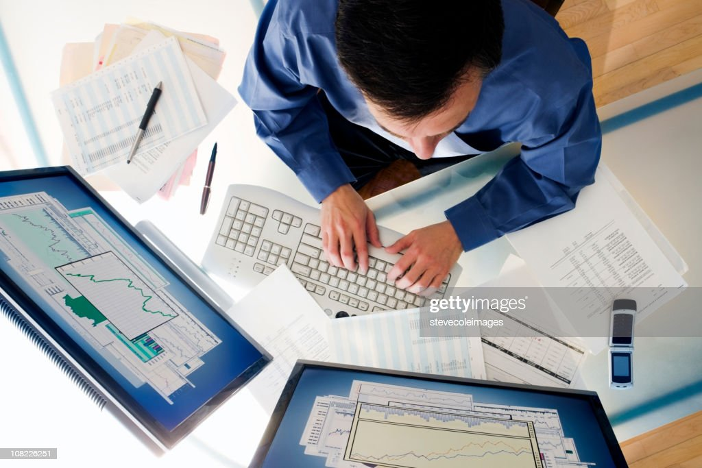 Business and Businessman : Stock Photo