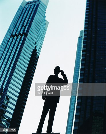 detail photo silhouette standing water high stock photography