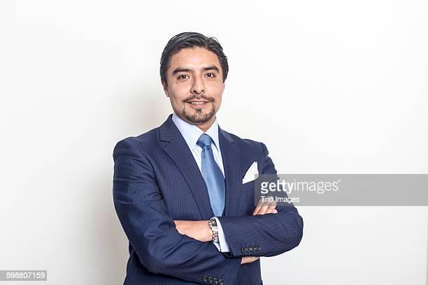 businessman studio portrait