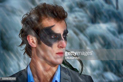 Businessman Super Hero : Stock Photo