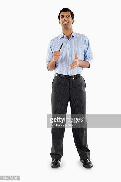Businessman Talking