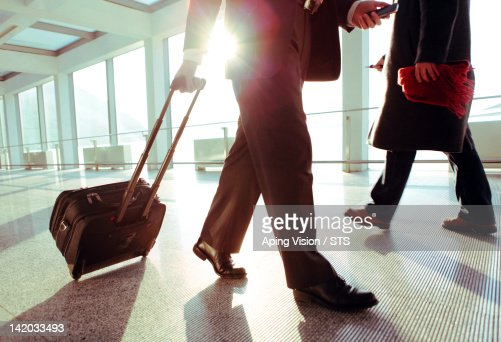 Businessman travelling : Stock Photo