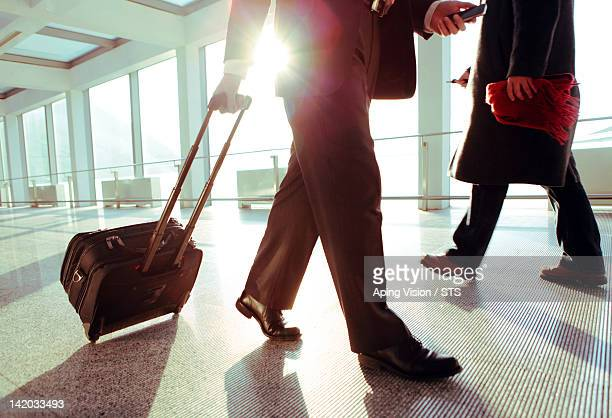 Businessman travelling