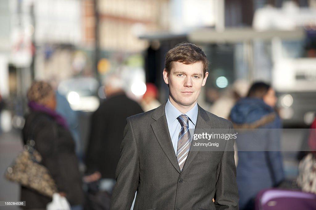 Businessman - Urban Portrait : Stock Photo
