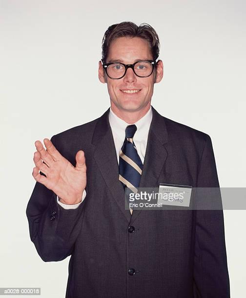 Businessman wearing Eyeglasses