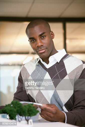 Businessman working : Foto de stock