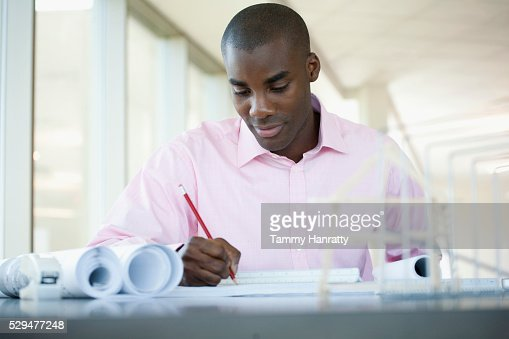Businessman working : Stock-Foto