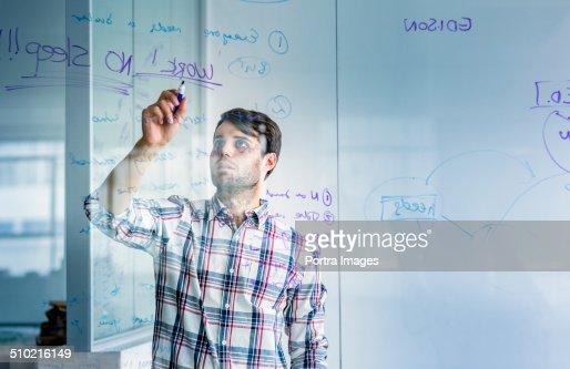 write on glass