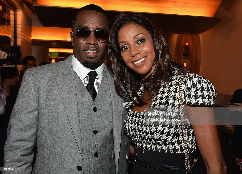 Businessman/singer <a gi-track='captionPersonalityLinkClicked' href=/galleries/search?phrase=Sean+Combs&family=editorial&specificpeople=178993 ng-click='$event.stopPropagation()'>Sean Combs</a> and actress <a gi-track='captionPersonalityLinkClicked' href=/galleries/search?phrase=Holly+Robinson+Peete&family=editorial&specificpeople=213716 ng-click='$event.stopPropagation()'>Holly Robinson Peete</a> attend a ceremony honoring Kenny 'Babyface' Edmonds with the 2508th Star on the Hollywood Walk of Fame on October 10, 2013 in Hollywood, California.