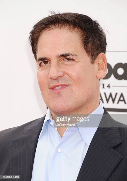 Businessman/TV personality Mark Cuban arrives at the 2014 Billboard Music Awards at the MGM Grand Garden Arena on May 18 2014 in Las Vegas Nevada