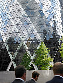 Sir Norman Foster Building, London, England.  Aug 2005.