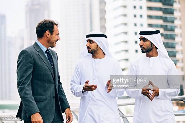 Geschäftsleute in Dubai, business