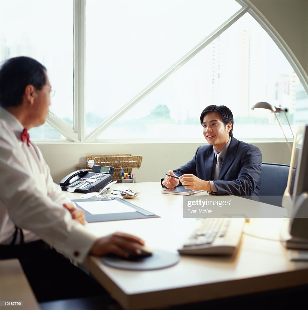 Businessmen in meeting : Stock Photo