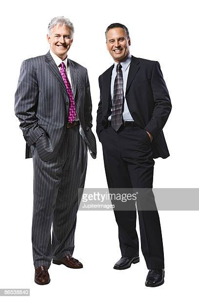 Businessmen in suits