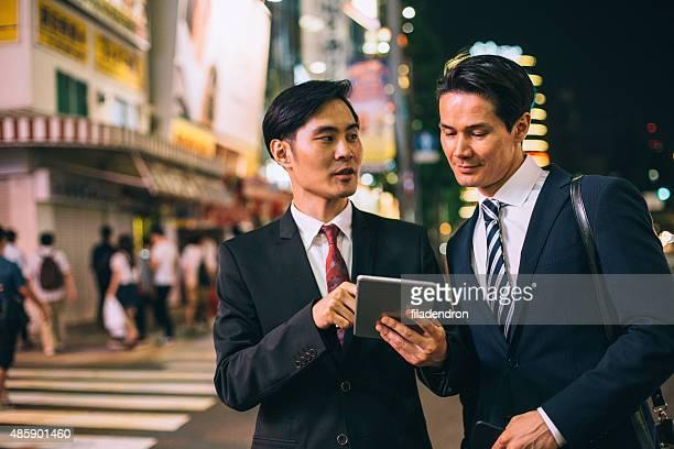 ビジネスマンの街