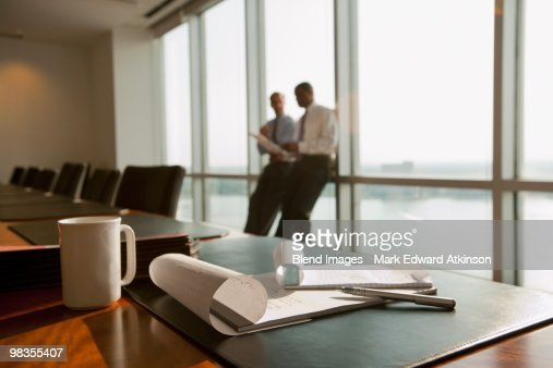 Businessmen meeting in conference room : Stock Photo