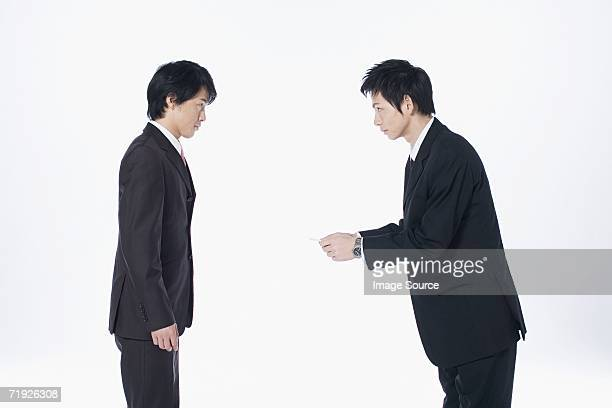 ビジネスマンのミーティング