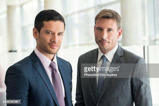 Businessmen, portrait