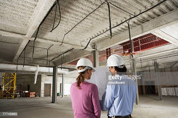 Businesspeople at Construction Site