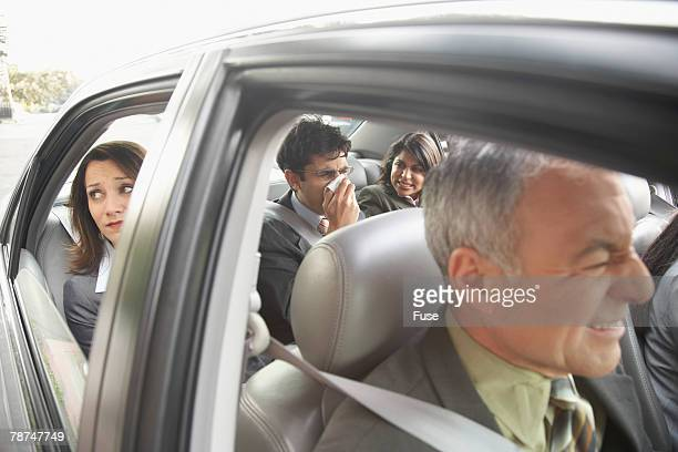 Businesspeople Carpooling