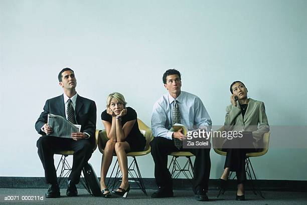 Businesspeople in Waiting Room