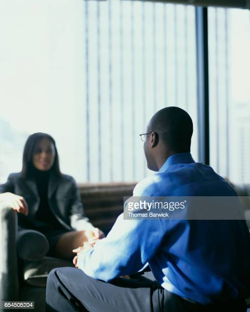 Businesspeople Meeting in Office