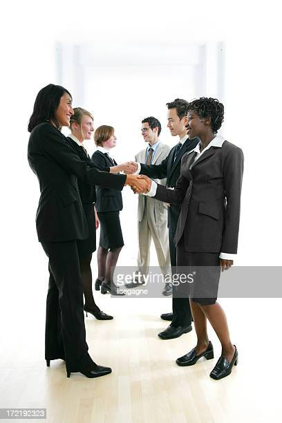 Businesspeople serie II : Deal I