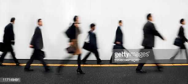 Businesspeople Walking to Work