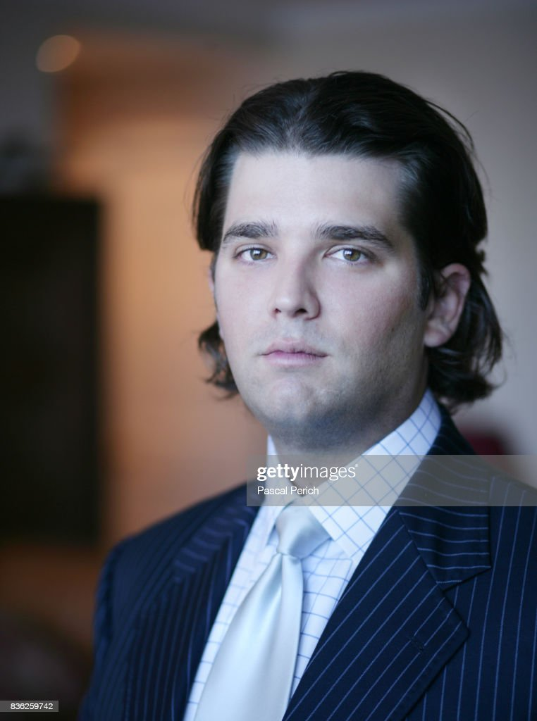 Businessperson Donald Trump Jr. photographed for Financial Times on January 9, 2005, in New York City.