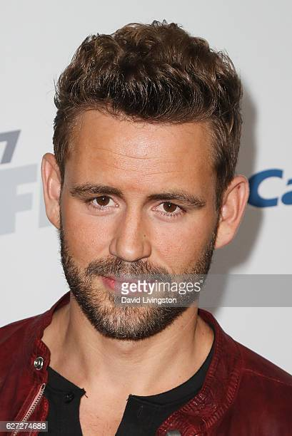 Businessperson Nick Viall arrives at 1027 KIIS FM's Jingle Ball 2016 at the Staples Center on December 2 2016 in Los Angeles California