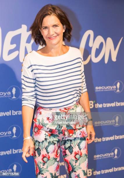 Businesswoman and cook Samantha VallejoNajera attends 'Viajeras con B' Season Presentation photocall on October 18 2017 in Madrid Spain