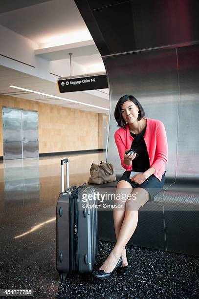 Legs Crossed At Ankle Stock Photos And Pictures Getty Images