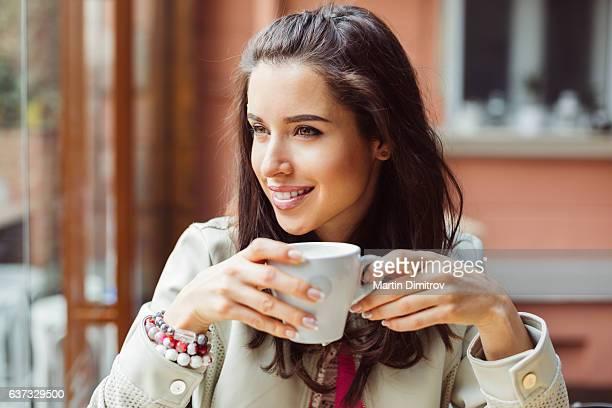 コーヒー ブレークで実業家