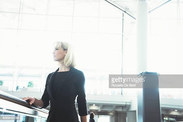 Mulher de Negócios no aeroporto