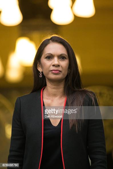 Businesswoman Gina Miller arrives at the Supreme Court for the final day of a four day hearing into whether Parliament's consent is required before...