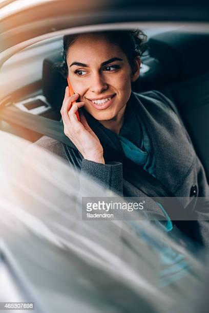 Businesswoman in Car