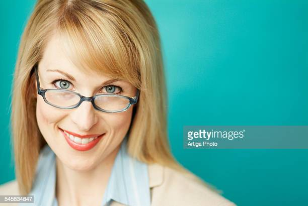 Businesswoman in Glasses