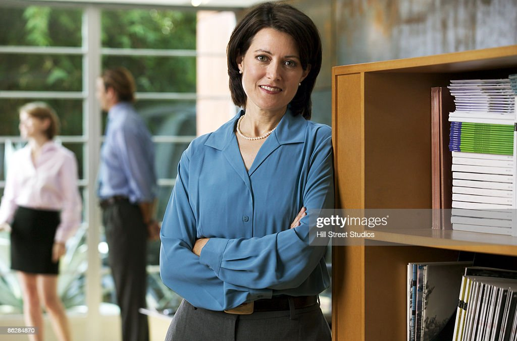 Businesswoman in office : Stock Photo